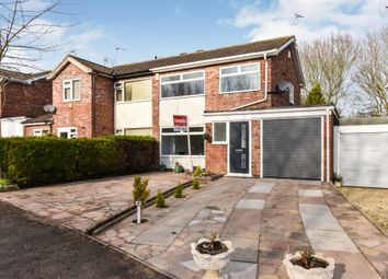 Thumbnail 3 bedroom semi-detached house for sale in Warwick Road, Broughton Astley, Leicester
