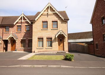 Thumbnail 3 bed terraced house to rent in River Hill Drive, Newtownards