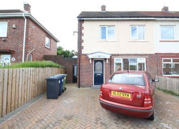 Thumbnail 2 bed semi-detached house for sale in Dumfries Crescent, Jarrow