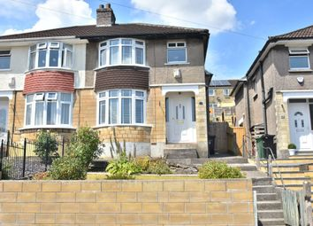 Thumbnail 3 bed semi-detached house for sale in Hill View Road, Larkhall, Bath