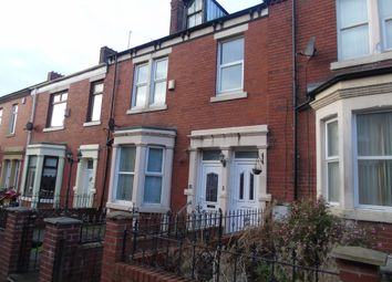 Thumbnail 2 bed flat to rent in Byron Avenue, Willington Quay, Wallsend
