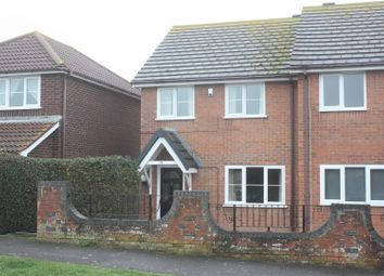 Thumbnail 3 bed semi-detached house for sale in Putton Lane, Chickerell, Weymouth