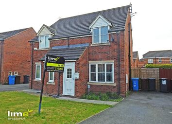 Thumbnail 2 bed semi-detached house to rent in Ferry Meadows Park, Kingswood, Hull