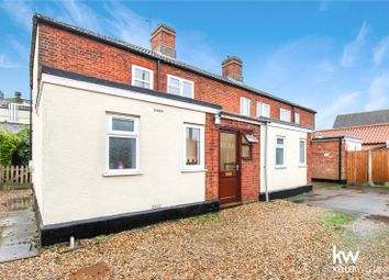 Thumbnail 3 bed end terrace house to rent in Station Road, Station Cottages, Attleborough