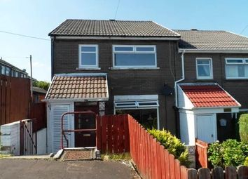 Thumbnail 3 bedroom property to rent in Edwards Court, Willowtown, Ebbw Vale