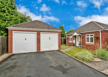 Thumbnail 2 bed detached bungalow for sale in Edwards Croft, Cannock