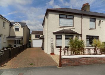 Thumbnail 4 bed semi-detached house for sale in Grove Road, Bridgend