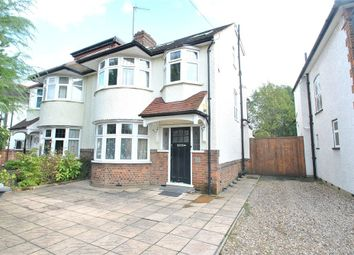 Thumbnail 4 bed semi-detached house to rent in Longland Drive, Totteridge, London