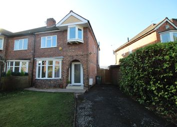 Thumbnail 3 bed semi-detached house to rent in Brook Lane, Olton, Solihull, West Midlands