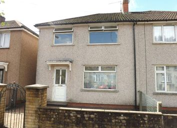 Thumbnail 3 bed semi-detached house to rent in Springfield Road, Risca, Newport