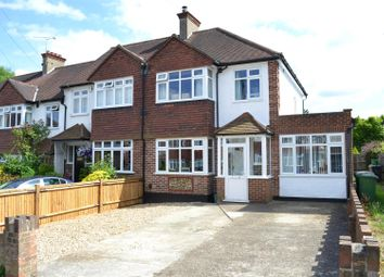 Thumbnail 4 bed semi-detached house for sale in Yew Tree Gardens, Epsom