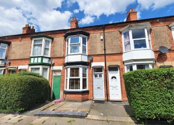 Thumbnail 3 bed terraced house for sale in Haddenham Road, Leicester