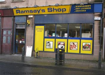 Thumbnail Retail premises for sale in Gourock, Inverclyde