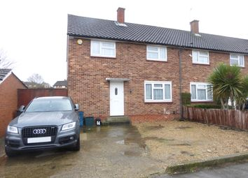 Thumbnail 3 bed end terrace house for sale in Burford Way, New Addington