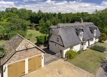 Thumbnail 4 bed country house for sale in High Haden Road, Glatton, Huntingdon, Cambridgeshire