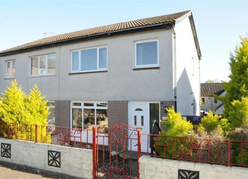Thumbnail 3 bed semi-detached house for sale in Denvale Gardens, Kennoway, Leven, Fife