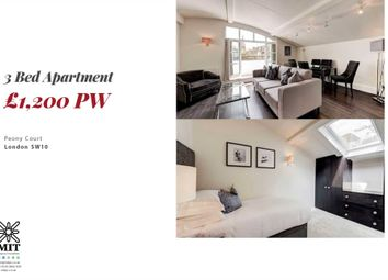 Thumbnail 3 bed penthouse to rent in Park Walk, London