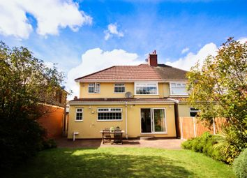 Thumbnail 4 bed semi-detached house for sale in Riverbank Road, Aigburth