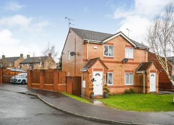 Thumbnail 2 bed semi-detached house for sale in Copenhagen Road, Clay Cross, Chesterfield