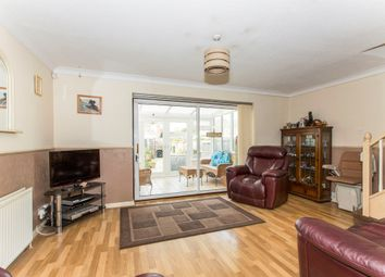 Thumbnail 3 bedroom terraced house for sale in Arnhem Close, Eaton Ford, St. Neots