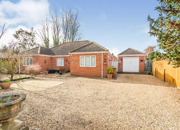 Chapnall Road, Wisbech PE13. 4 bed detached bungalow for sale