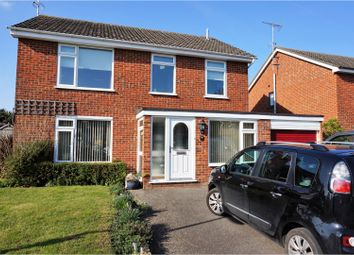 Thumbnail 4 bed detached house for sale in White Horse Road, Capel St Mary