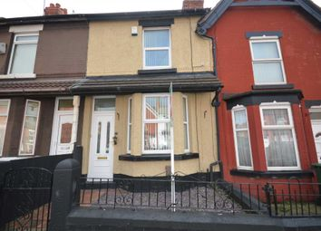 Thumbnail 3 bed terraced house for sale in Elmswood Road, Tranmere, Birkenhead