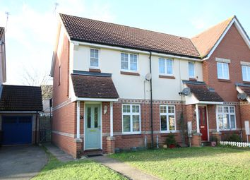 Thumbnail 2 bed end terrace house for sale in Keytes Way, Great Blakenham, Ipswich, Suffolk