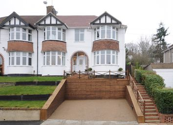 Thumbnail 4 bed semi-detached house for sale in Wood Lodge Lane, West Wickham