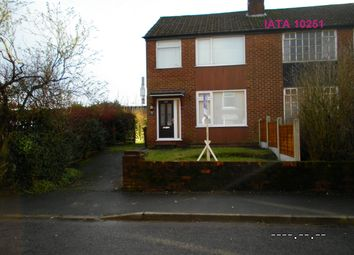 Thumbnail 3 bed semi-detached house to rent in Middleton Road, Royton, Oldham