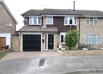 Thumbnail 4 bed semi-detached house for sale in Shaw Close, Cliffe Woods, Kent