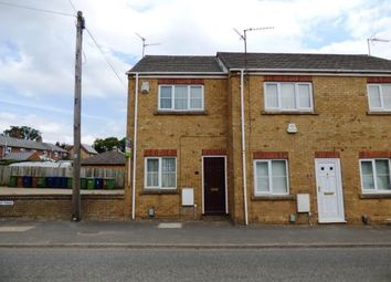 Thumbnail 1 bed end terrace house for sale in River Terrace, Ramsey Road, Whittlesey, Peterborough