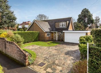 Thumbnail 3 bed detached house for sale in Glebe Road, Cheam, Sutton