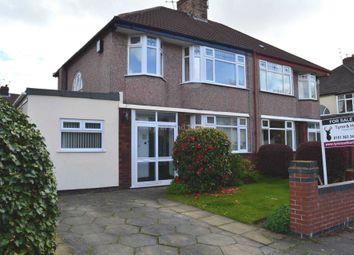 Thumbnail 3 bedroom semi-detached house for sale in Elder Gardens, Liverpool