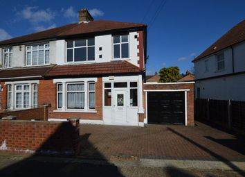 Thumbnail 3 bed semi-detached house to rent in Sunnycroft Road, Hounslow
