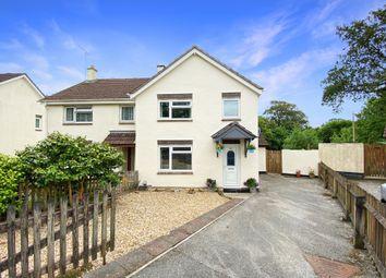Thumbnail 3 bed semi-detached house for sale in Champernowne, Modbury, Ivybridge