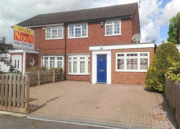 Thumbnail 3 bed semi-detached house to rent in Plough Road, West Ewell, Epsom