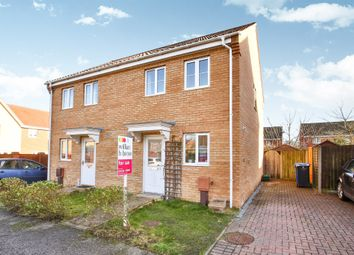 Thumbnail 2 bedroom semi-detached house for sale in Old School Close, Norwich