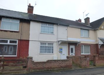 Thumbnail 2 bedroom terraced house to rent in Balfour Road, Doncaster, South Yorkshire