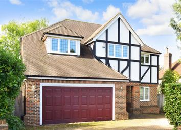 Thumbnail 5 bed detached house for sale in Green Curve, Banstead, Surrey