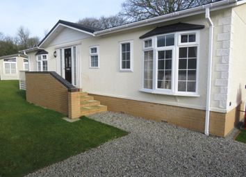 Thumbnail 2 bed mobile/park home for sale in Sandringham, Pentewan, St. Austell
