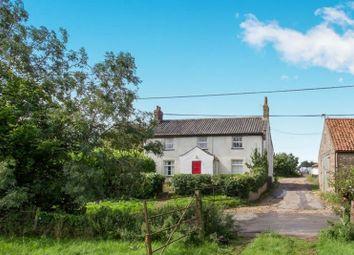 Thumbnail 4 bed farmhouse for sale in Railway Farmhouse, The Street, Sporle, King's Lynn, Norfolk