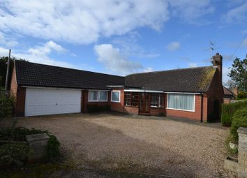 Thumbnail 3 bed detached bungalow for sale in Cossington Road, Sileby, Leicestershire