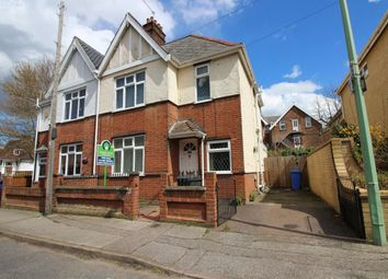 Thumbnail 4 bedroom semi-detached house for sale in Sussex Road, Lowestoft