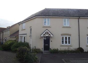 Thumbnail 3 bed semi-detached house for sale in Lannesbury Crescent, Loves Farm, St. Neots, Cambridgeshire