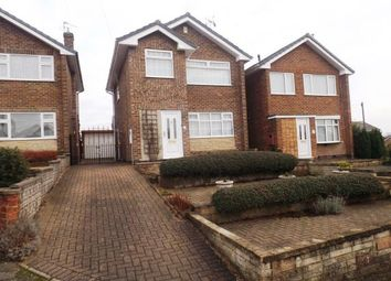 Thumbnail 3 bed detached house for sale in Grasmere Close, Hucknall, Nottingham, Nottinghamshire