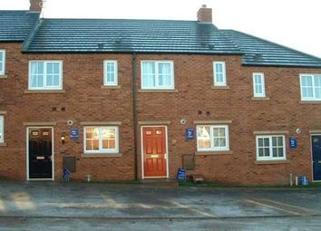 Thumbnail 2 bed town house to rent in Forest School Street, Rolleston-On-Dove, Burton-On-Trent
