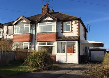 Thumbnail 3 bed semi-detached house for sale in Primrose Lane, Helsby, Cheshire
