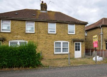 Thumbnail 2 bed semi-detached house for sale in Milner Crescent, Aylesham, Canterbury, Kent