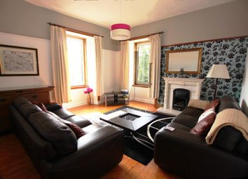 Thumbnail 3 bed flat to rent in Crow Road, Glasgow